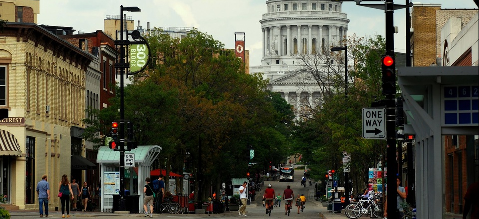 State Street in Madison, Wisconsin