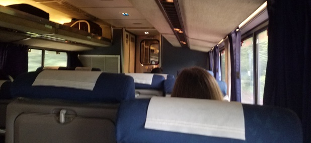 A recent westward journey on Amtrak's Capitol Limited.