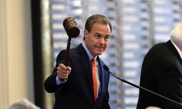 Texas House Speaker Joe Straus has been critical of the bathroom bill as a reputation-killer.