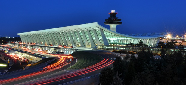 Washington Dulles International Airport.