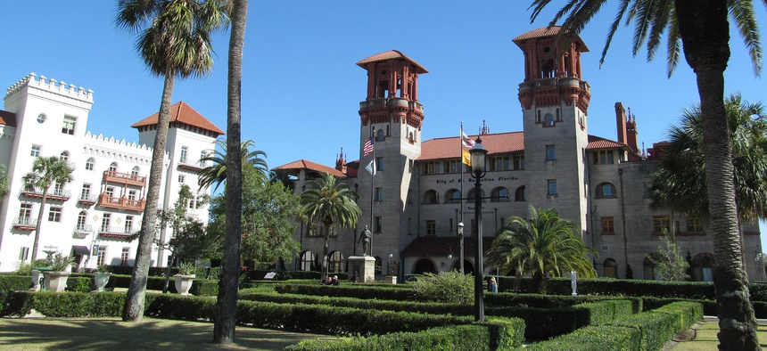City Hall in St. Augustine, Florida