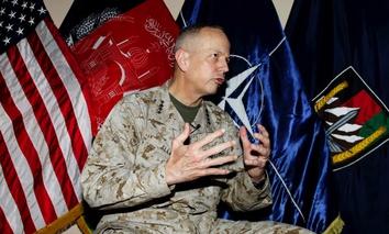 U.S. Marine Gen. John Allen in 2013.