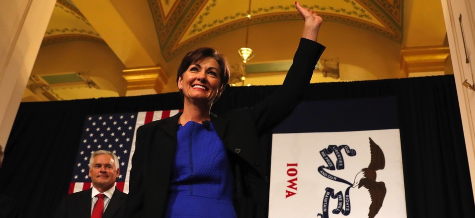 Iowa Gov. Kim Reynolds is being pressured by the state's treasurer to change legislative protocols after settling a lawsuit with a woman accusing GOP senators of sexual harassment.