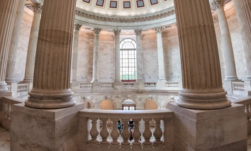 The Rotunda inside the Russell Senate Office Building in Washington, D.C.