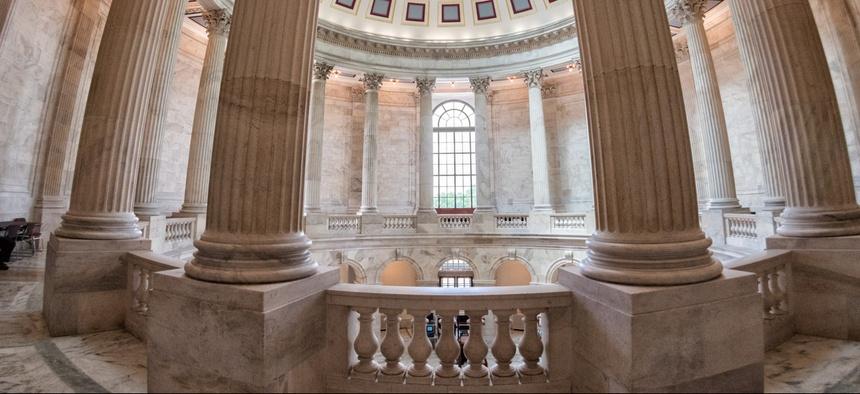 The Rotunda inside the Russell Senate Office Building in Washington, D.C.