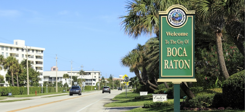 Welcome to Boca Raton, Florida