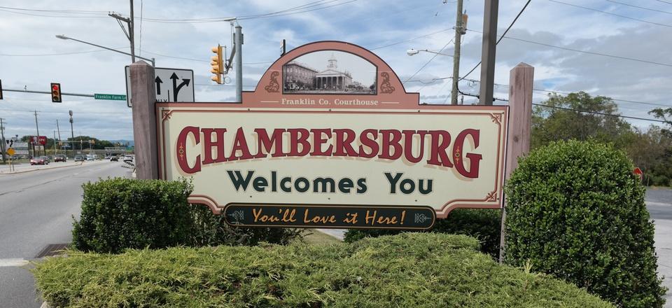 Welcome to Chambersburg, Pennsylvania!