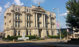 The Jefferson County Courthouse in Steubenville, Ohio