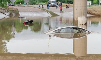 It doesn't take a hurricane to flood Houston.