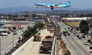 Los Angeles raised taxes to fund a mass transit expansion ahead of the 2024 Olympics, which it is competing for the right to host.