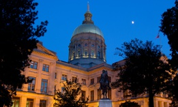 The Georgia State Capitol in Atlanta