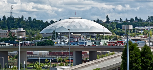 The Tacoma Dome is in Pierce County, Washington.