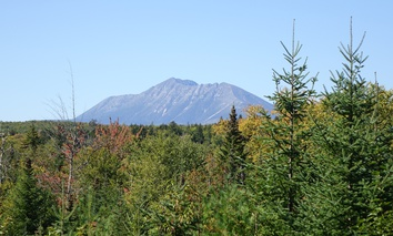 Mt. Katahdin in Maine