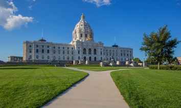 The Minnesota State Capitol.