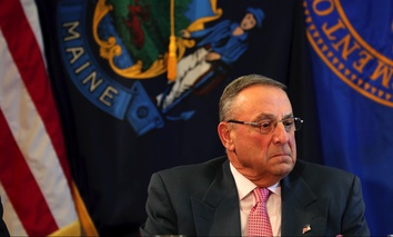 Maine Gov. Paul LePage.