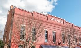 City Hall in New Bern, N.C.