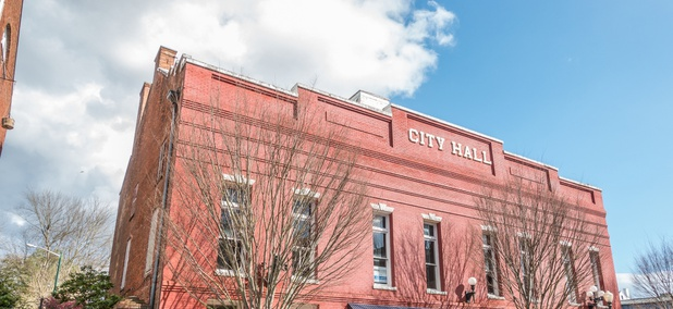 City Hall in New Bern, N.C.