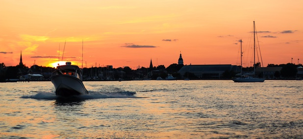 Annapolis, Maryland is located on Chesapeake Bay.