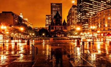 Boston's Copley Square