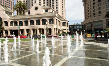 San Jose's downtown business district has been blanketed with free, public Wi-Fi.