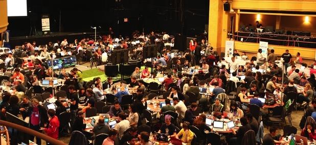 TechCrunch Hackathon at Disrupt NY 2015