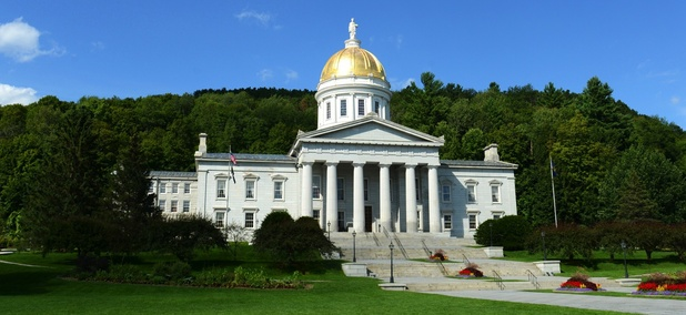The Vermont State House in Montpelier