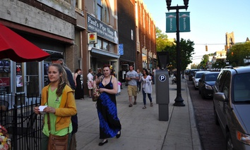 Downtown Flint, Michigan.