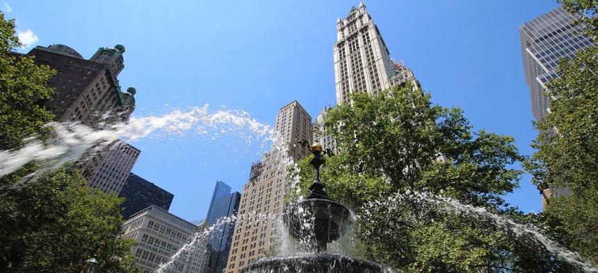 City Hall Park in New York City
