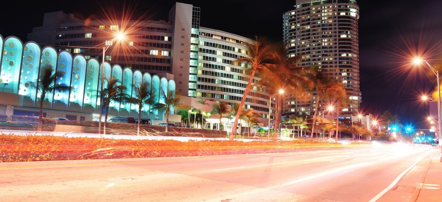 South Beach Street in Miami.