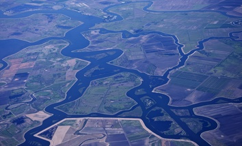The Sacramento Delta in California