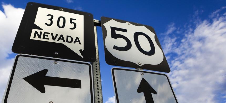 Along U.S. 50 in Nevada