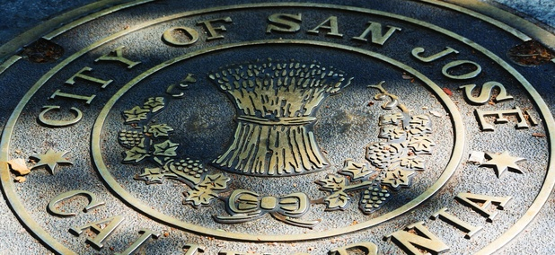 The city seal of San Jose, California