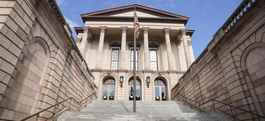 Lancaster County Courthouse, Pennsylvania