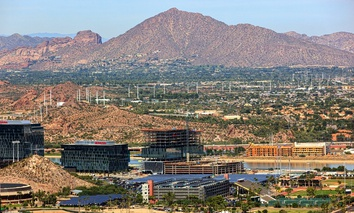Arizona State University's campus Tempe.