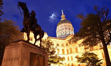 The Georgia State Capitol in Atlanta.