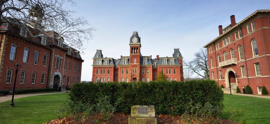 West Virginia University's campus