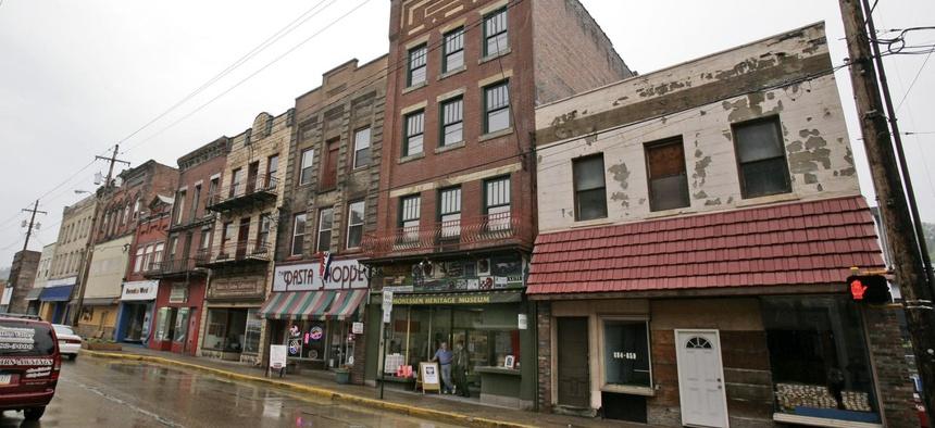 Donnor Street in Monessen, Pennsylvania