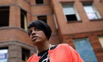 Baltimore Mayor Stephanie Rawlings-Blake.