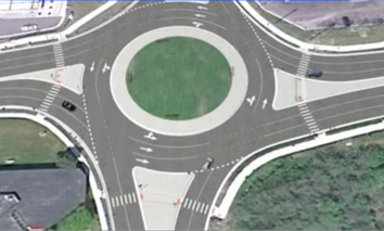 It's a roundabout!