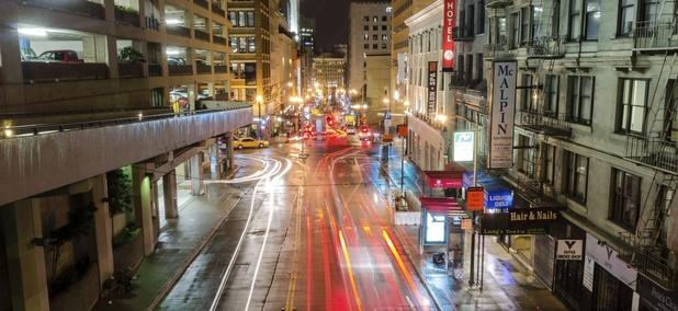 Stockton Street in San Francisco