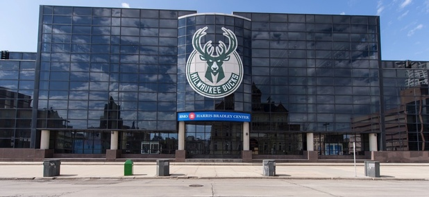 The BMO Harris Bradley Center. The current home of the Milwaukee Bucks.