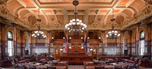 Kansas state Senate chamber
