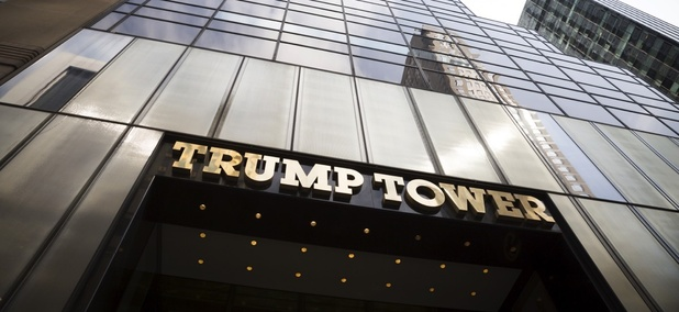 Trump Tower in New York City, New York.