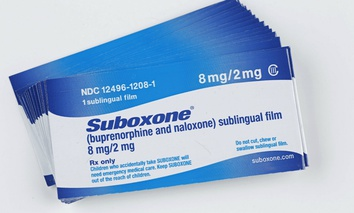 Suboxone combines bupenorphine, a long-acting narcotic, & naloxone, a opiate antagonist administered sublingualy to treat narcotics addictions in long-term treatment programs.