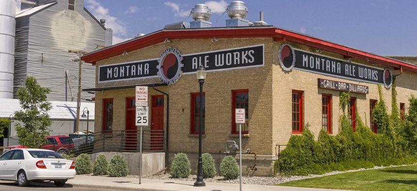 Montana Ale Works in Bozeman