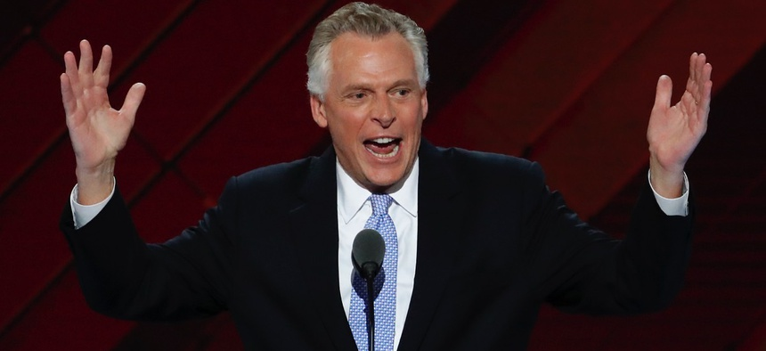 Virginia Gov. Terry McAuliffe