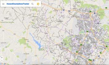 Howard County Snow Tracker