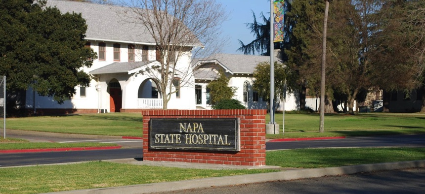 Napa State Hospital. Institutions like this one sterilized 20,000 people in California.