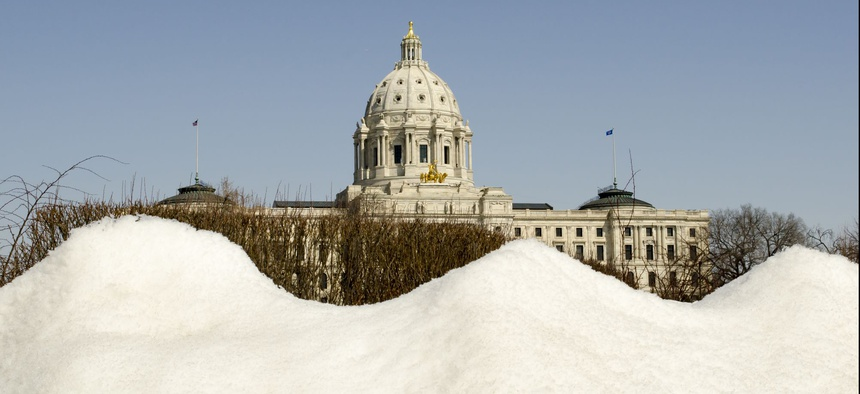 The Minnesota State Capitol in St. Paul