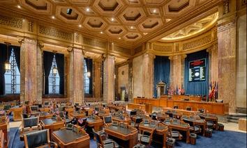 Louisiana's Senate chamber